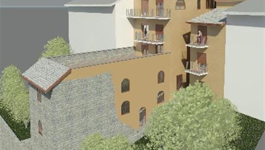 Struttura centro storico di Lanzo Torinese 380000€