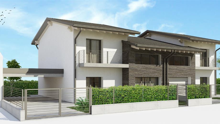 Casa Bifamiliare Classe 'A' in vendita a Tombolo