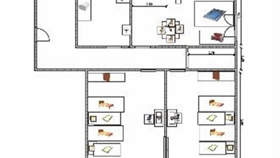 Appartamento primo piano mq 95