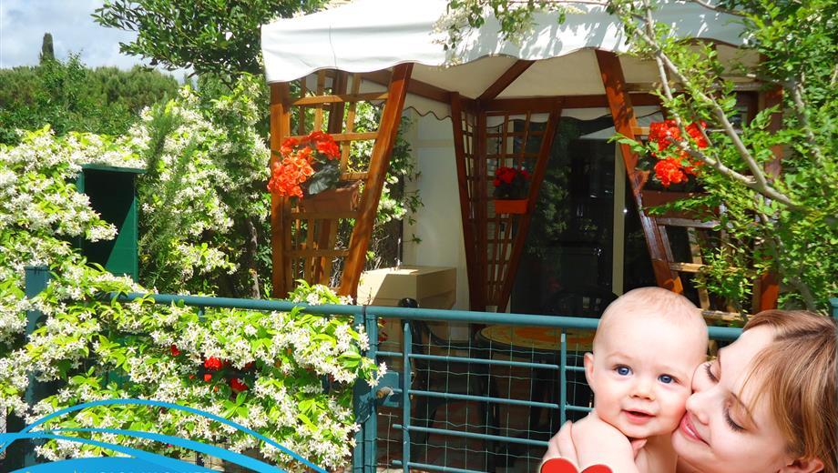 Monolocale con giardinetto e posto auto a Giulianova sulla Pineta FRONTEMARE